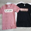 Bride Vibes and Bride Tribe with Wedding Hashtag Shirt