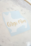 Corgi Mom Vinyl Decal