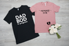 Dad Bod and Mommy To Be Shirt Set