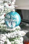 Baby's First Christmas Glitter Christmas Ornament