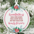 Grandfathers Hold Our Hearts Forever Christmas Ornament