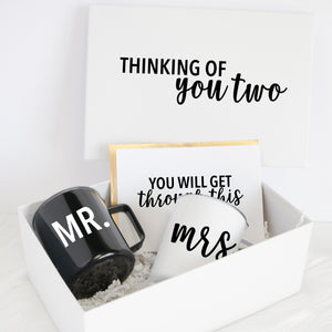 Thinking of You Two Postponed Wedding Deluxe Gift Box