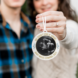 We Didn't Stay 6 Feet Apart Photo Christmas Ornament