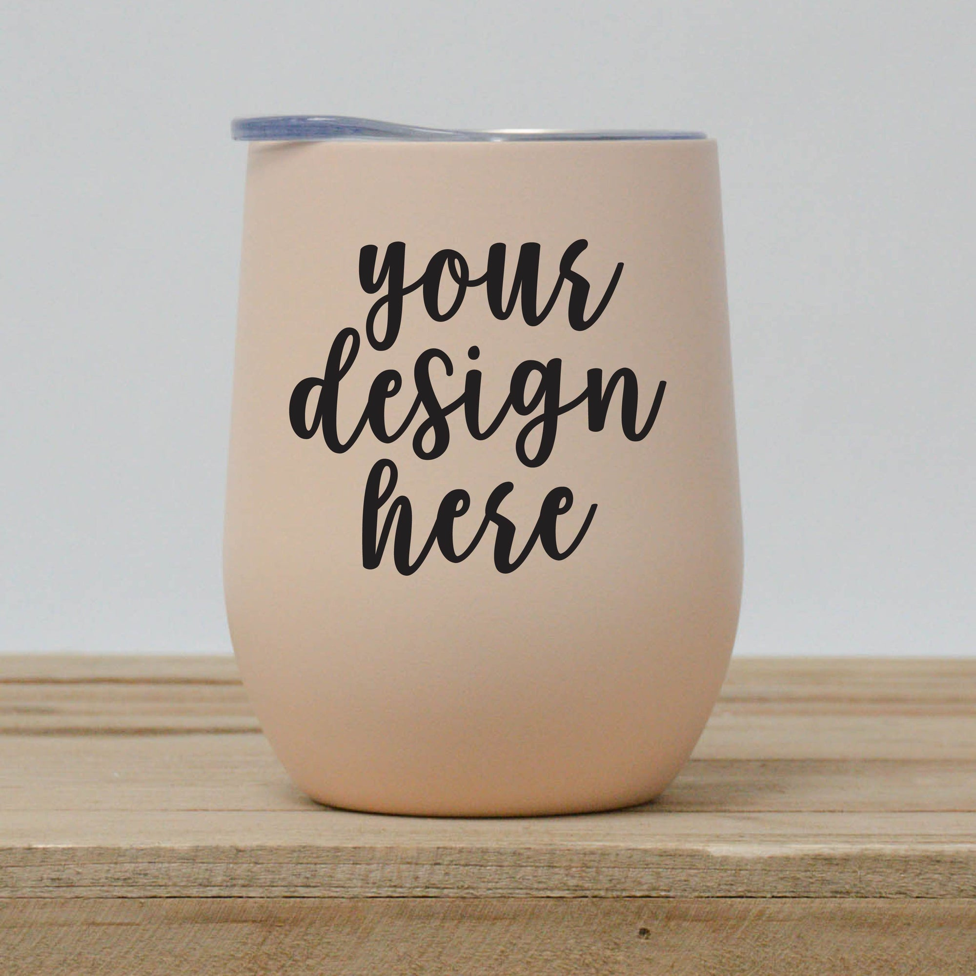 Custom Design Wine Tumbler