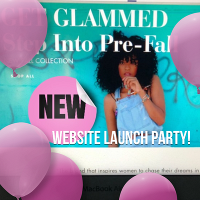 NEW WEBSITE LAUNCH PARTY!