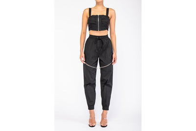 Chase Grace Pleated Jogger Set