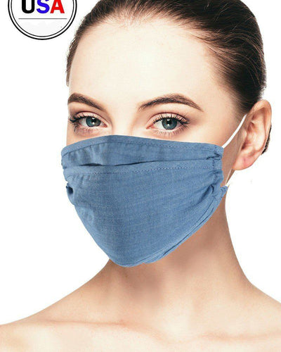 Denim Reusable Face Mask