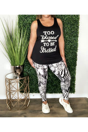 Too Blessed Legging Set