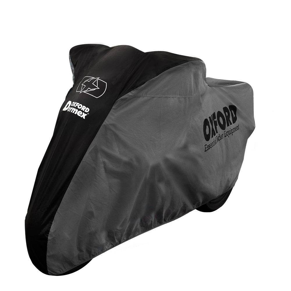 Ducati 848 Oxford Motorcycle Cover Breathable Water Resistant Black Grey