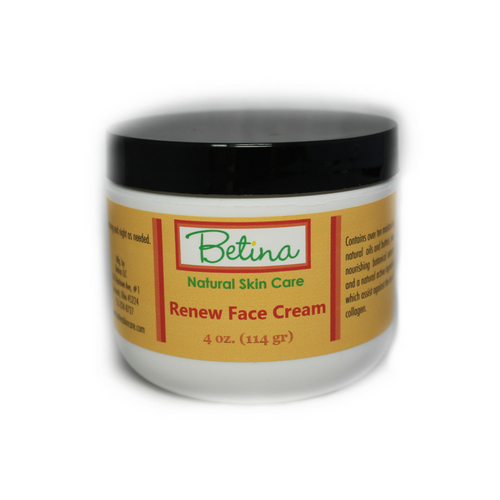 Renew Face and Eye Cream Bundle by Betina Natural Skin Care
