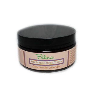 Chamomile Lavender Silk and Satin Body Cream by Betina Skin Care
