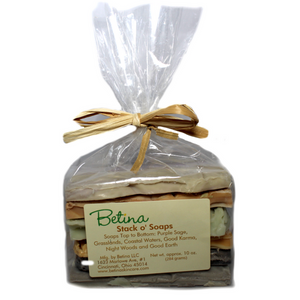 Betina Skin Care Natural Soap Samples Value Pack of 6