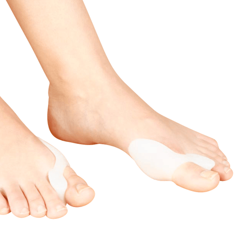 Toe Aligners 2-in-1 Bunion Guard with Toe Separators - One Size Fits All