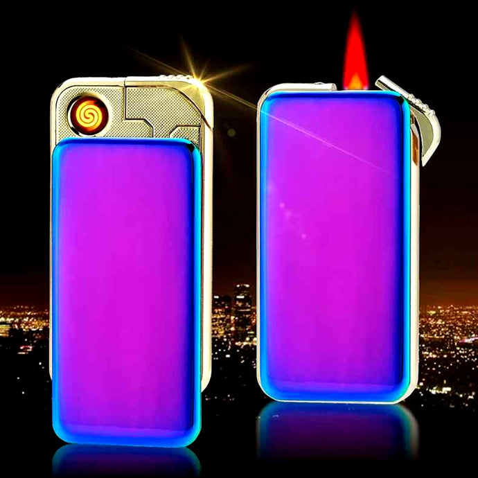 Dual Lighting Usb Electronic Cigarette Lighter