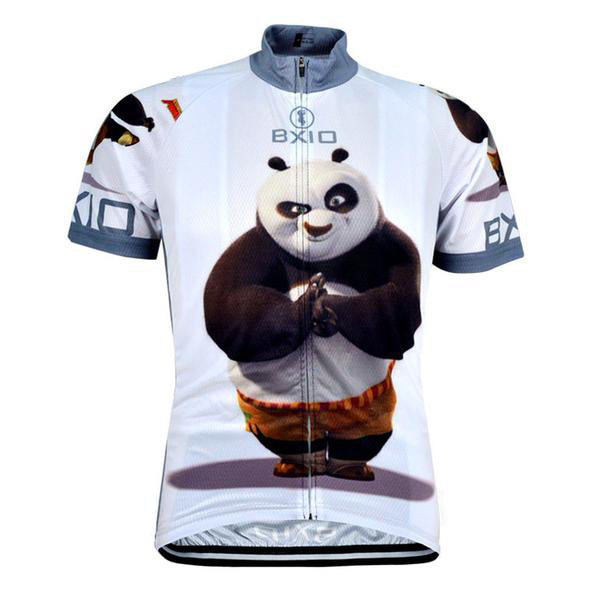Kung Fu Panda Short Sleeves Rebel Cycling Jersey 627df5083