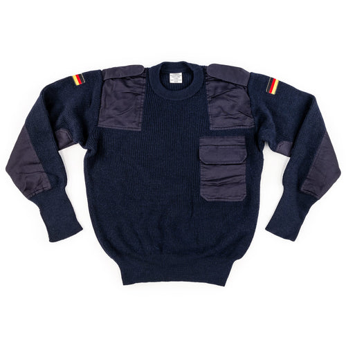 GERMAN BUNDESMARINE DARK BLUE SWEATER