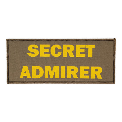 Secret Admirer Completely Reprehensible Admin Patch