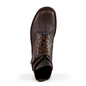 Waxi Boot, Dark Brown, Anti-Track Sole [Pre-Order]