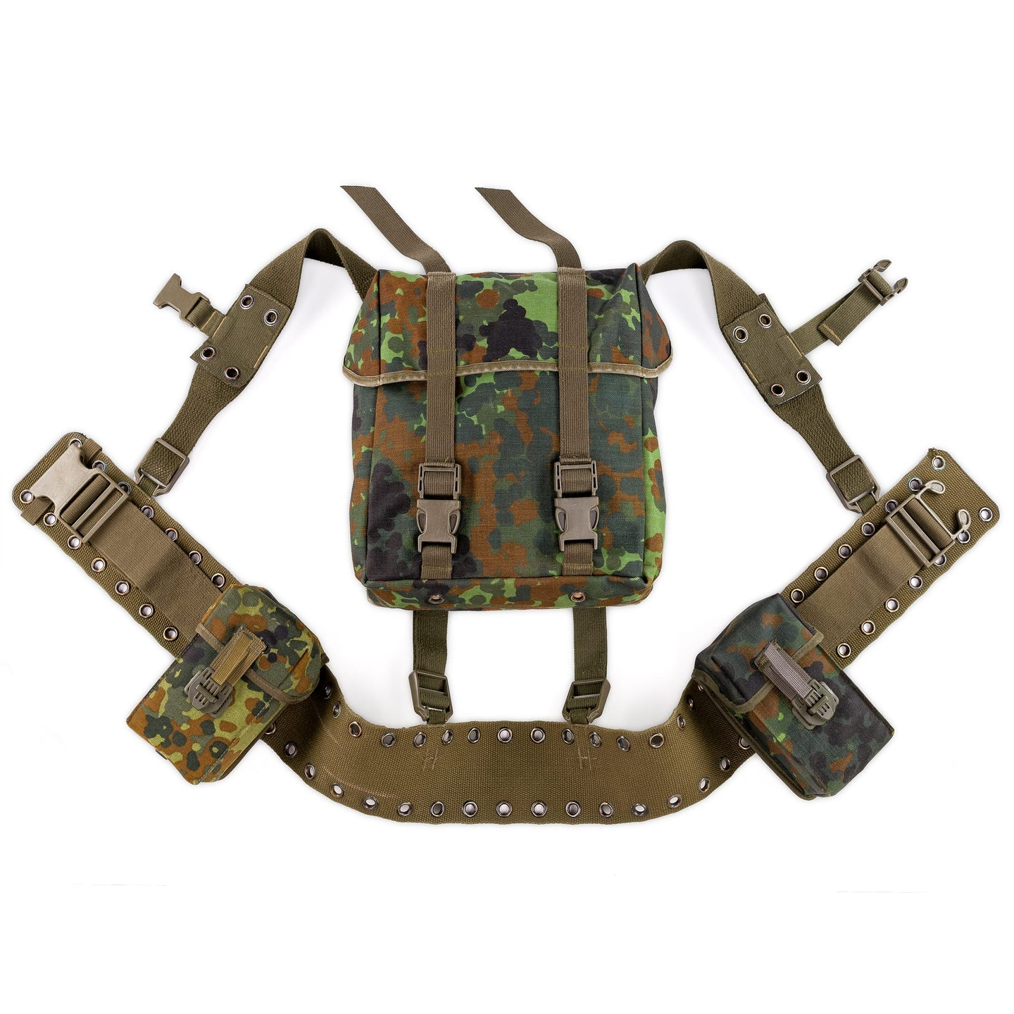 German Flecktarn LKS Load Bearing System