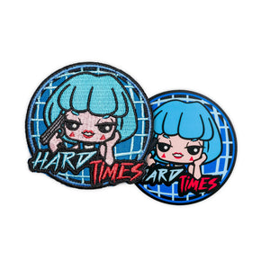 Hard Times Bonbi Patch & Free Vinyl Sticker