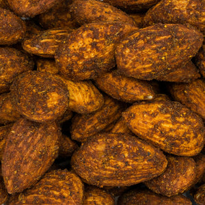 Ivan's Fiery Grads: Mylar Packed Spicy Almonds