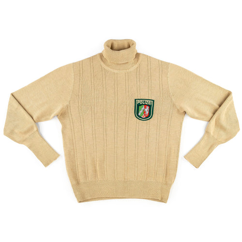 WEST GERMAN POLIZEI TURTLENECK SWEATER