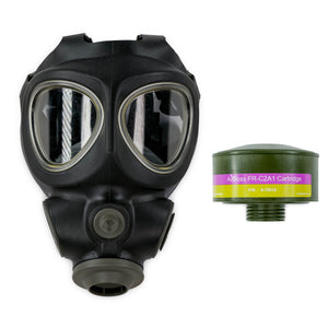 Police Trade-In 3M Scott M95 Gas Mask