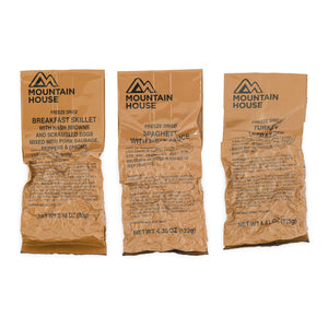 Mountain House MCW Breakfast, Lunch, & Dinner Bundle