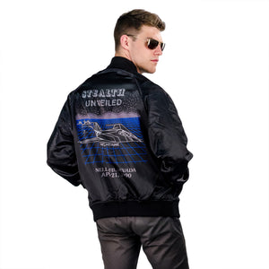 STEALTH UNVEILED NIGHTHAWK BOMBER JACKET