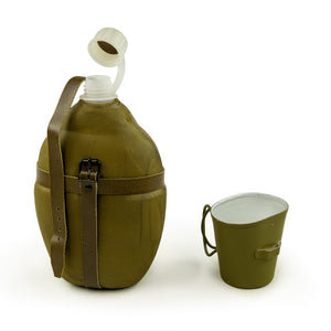 EAST GERMAN INSULATED RUBBERIZED CANTEEN