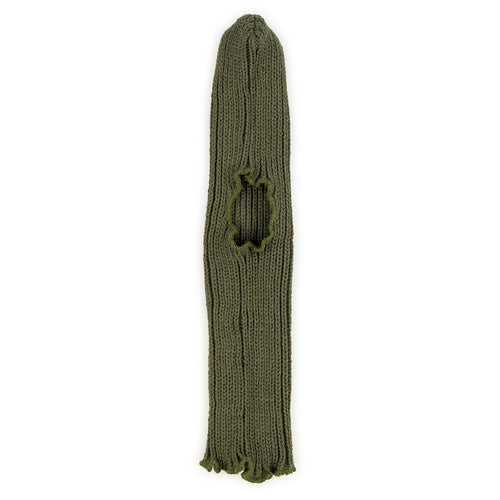 EAST GERMAN COLD WEATHER BALACLAVA, KNIT WOOL