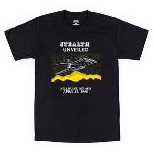 Stealth Unveiled Yellow Dawn Nighthawk T-Shirt