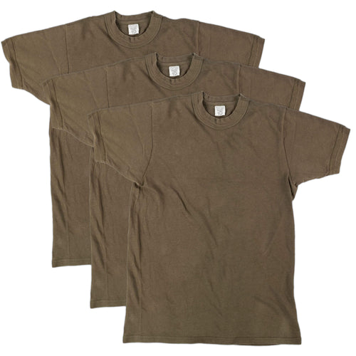 Three Pack Bundeswehr OD Short Sleeve Shirt