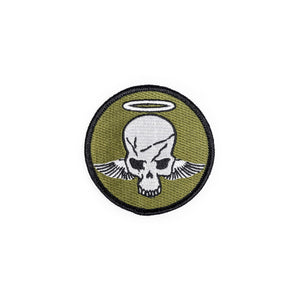 METAL GEAR SOLID V: SKULL WITH HALO & WINGS PATCH