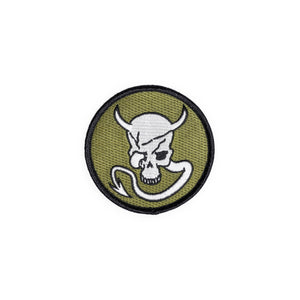 METAL GEAR SOLID V: SKULL WITH HORNS & TAIL PATCH