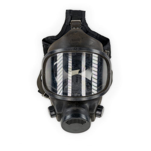 Police Trade-In MSA Phalanx CBA-RCA Gas Mask w/ 40mm Filter Adapter