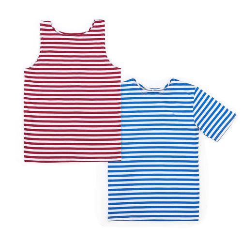 RUSSIAN TELNYASHKA STRIPED SHIRT BUNDLE