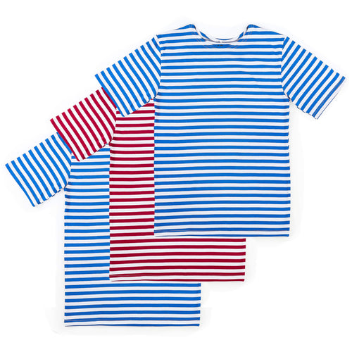 3 PACK RUSSIAN TELNYASHKA STRIPED T-SHIRT
