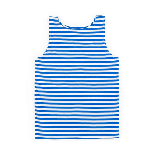 RUSSIAN TELNYASHKA STRIPED TANK TOP