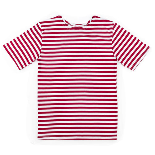 RUSSIAN TELNYASHKA STRIPED T-SHIRT