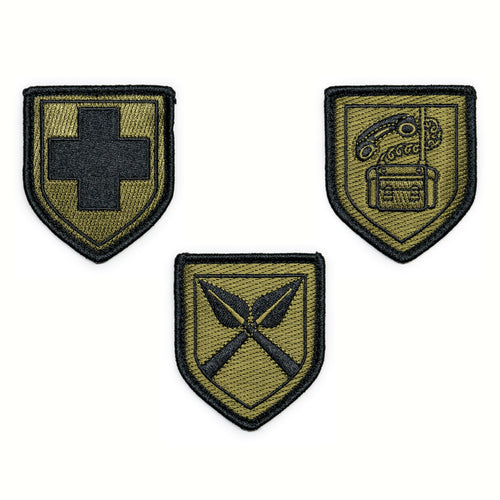 RHODESIAN S.F.A. PATCHES BUNDLE
