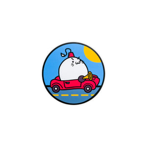 SHRINER PARADE CAR FLOOF VINYL STICKER