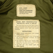 Load image into Gallery viewer, US VIETNAM ISSUE M69 (GEN II) FLAK JACKET