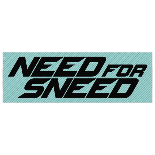 Need For Sneed Vinyl Sticker