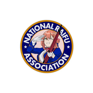 Springfield National Raifu Association Vinyl Sticker
