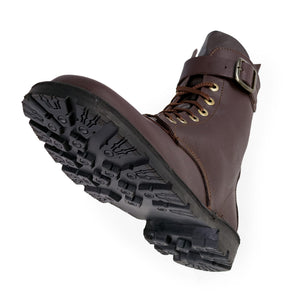Waxi Boot, Dark Brown, Lug Sole