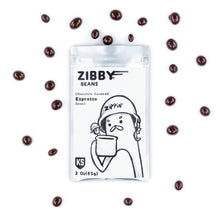 IVAN'S ZIBBY BEANS: CHOCOLATE COVERED ESPRESSO BEANS