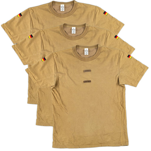 Three Pack Bundeswehr Tropen Short Sleeve Shirt
