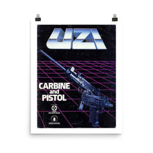 Retouched Uzi Carbine and Pistol Promotional Posters