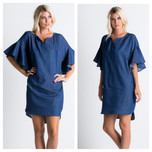 Bethany Denim Dress